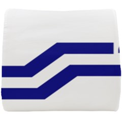 Flag Of The Franco Columbians Seat Cushion by abbeyz71