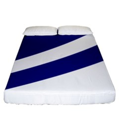 Franco Albertan Flag Fitted Sheet (king Size)