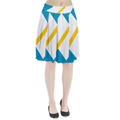 Flag Of The Franco Yukonnais Pleated Skirt