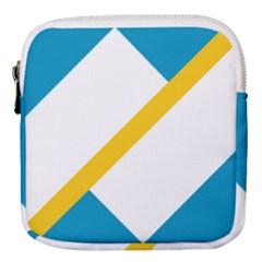 Flag Of The Franco Yukonnais Mini Square Pouch