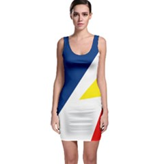 Franco Terreneuviens Flag Bodycon Dress