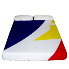 Franco Terreneuviens Flag Fitted Sheet (california King Size) by abbeyz71