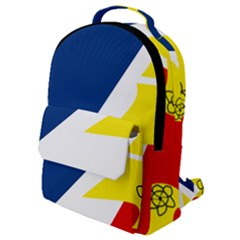 Franco Terreneuviens Flag Flap Pocket Backpack (small)