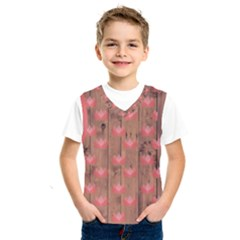 Zen Lotus Wood Wall Kids  Sportswear