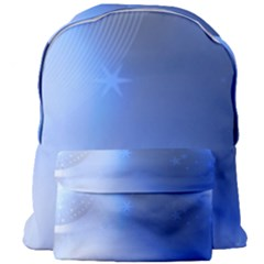 Blue Star Background Giant Full Print Backpack by Jojostore