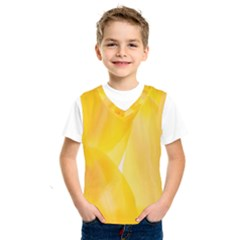 Yellow Pattern Painting Kids  Sportswear