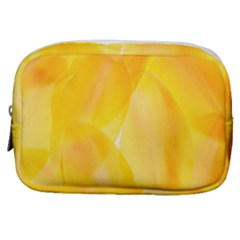 Yellow Pattern Painting Make Up Pouch (small) by Jojostore