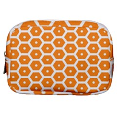 Golden Be Hive Pattern Make Up Pouch (small) by Jojostore