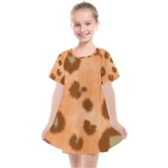 Seamless Tile Background Abstract Kids  Smock Dress