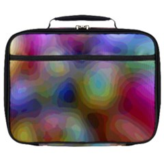 A Mix Of Colors In An Abstract Blend For A Background Full Print Lunch Bag by Jojostore