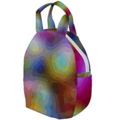 A Mix Of Colors In An Abstract Blend For A Background Travel Backpacks by Jojostore