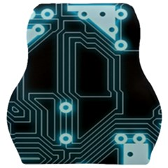 A Completely Seamless Background Design Circuitry Car Seat Velour Cushion