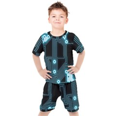 A Completely Seamless Background Design Circuitry Kid s Set