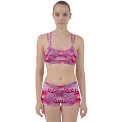 Seamless Repeat Repeating Pattern Perfect Fit Gym Set