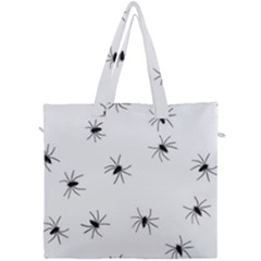 Animals Arachnophobia Seamless Canvas Travel Bag by Jojostore