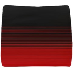 Abstract Of Red Horizontal Lines Seat Cushion by Jojostore