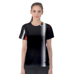 Colorful Neon Background Images Women s Sport Mesh Tee