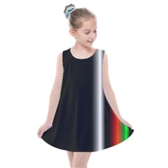 Colorful Neon Background Images Kids  Summer Dress by Jojostore