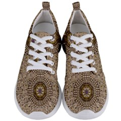Moon Shine Over The Wood In The Night Of Glimmering Pearl Stars Men s Lightweight Sports Shoes