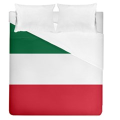 Patriote Flag Duvet Cover (queen Size) by abbeyz71