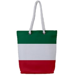 Patriote Flag Full Print Rope Handle Tote (small) by abbeyz71
