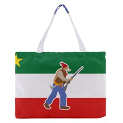 Patriote Flag With Le Vieux De  37 Zipper Medium Tote Bag by abbeyz71