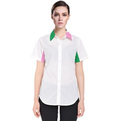 Newfoundland Tricolour Women s Short Sleeve Shirt