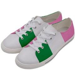 Newfoundland Tricolour Women s Low Top Canvas Sneakers by abbeyz71
