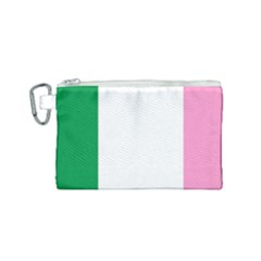 Newfoundland Tricolour Canvas Cosmetic Bag (small)