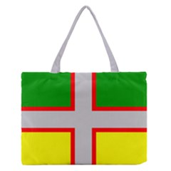 Flag Of Saguenay Lac Saint Jean Zipper Medium Tote Bag by abbeyz71