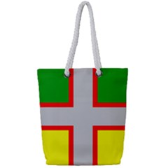 Flag Of Saguenay Lac Saint Jean Full Print Rope Handle Tote (small)
