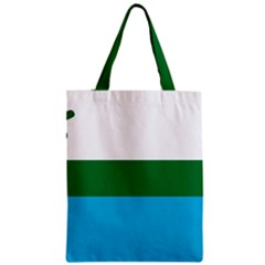 Flag Of Labrador Zipper Classic Tote Bag