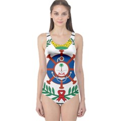 Logo Of Royal Saudi Navy One Piece Swimsuit