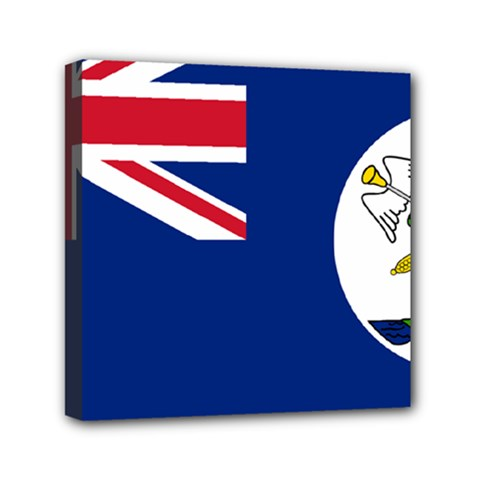 Flag Of Vancouver Island Mini Canvas 6  X 6  (stretched) by abbeyz71