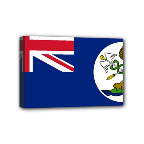 Flag Of Vancouver Island Mini Canvas 6  X 4  (stretched) by abbeyz71