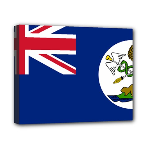 Flag Of Vancouver Island Canvas 10  X 8  (stretched) by abbeyz71