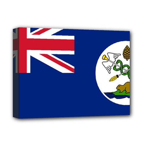 Flag Of Vancouver Island Deluxe Canvas 16  X 12  (stretched)  by abbeyz71
