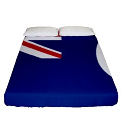 Flag Of Vancouver Island Fitted Sheet (queen Size) by abbeyz71