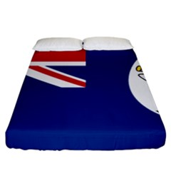 Flag Of Vancouver Island Fitted Sheet (california King Size) by abbeyz71