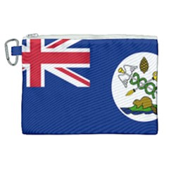 Flag Of Vancouver Island Canvas Cosmetic Bag (xl) by abbeyz71