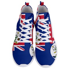Flag Of Vancouver Island Men s Lightweight High Top Sneakers