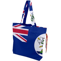 Flag Of Vancouver Island Drawstring Tote Bag by abbeyz71