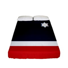 Flag Of Western Canada Fitted Sheet (full/ Double Size) by abbeyz71