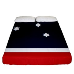 Flag Of Western Canada Fitted Sheet (california King Size) by abbeyz71