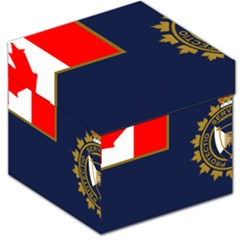 Flag Of Canada Border Services Agency Storage Stool 12   by abbeyz71
