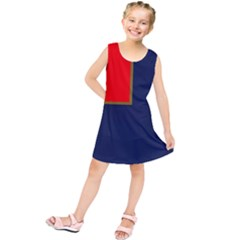 Flag Of Canada Border Services Agency Kids  Tunic Dress