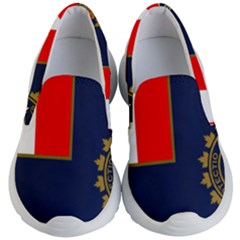 Flag Of Canada Border Services Agency Kid s Lightweight Slip Ons