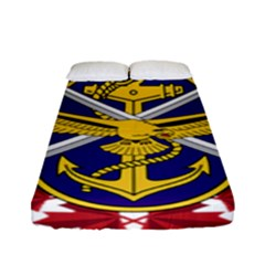 Badge Of Canadian Armed Forces Fitted Sheet (full/ Double Size) by abbeyz71