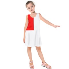 Naval Ensign Of Canada Kids  Sleeveless Dress by abbeyz71