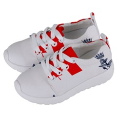 Naval Ensign Of Canada Kids  Lightweight Sports Shoes by abbeyz71